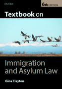 Cover for Textbook on Immigration & Asylum Law