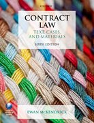 Cover for Contract Law: Text, Cases, and Materials