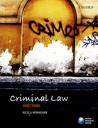 Monaghan: Criminal Law Directions 3e