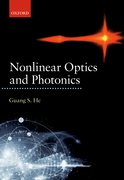 Cover for Nonlinear Optics and Photonics