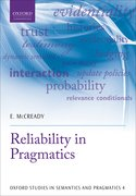 Cover for Reliability in Pragmatics
