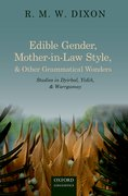 Cover for Edible Gender, Mother-in-Law Style, and Other Grammatical Wonders