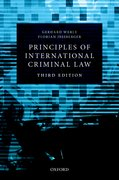 Cover for Principles of International Criminal Law
