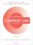 Cover for Company Law Concentrate