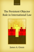 Cover for The Persistent Objector Rule in International Law