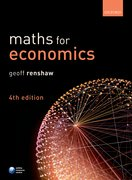 Cover for MATHS FOR ECONOMICS 4E
