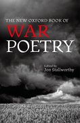 Cover for The New Oxford Book of War Poetry