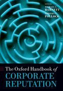 Cover for The Oxford Handbook of Corporate Reputation