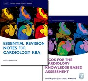 Cover for MCQs for the Cardiology Knowledge Based Assessment  and Essential Revision Notes for the Cardiology KBA Pack