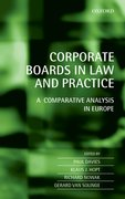 Cover for Corporate Boards in European Law