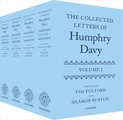 Cover for The Collected Letters of Humphry Davy