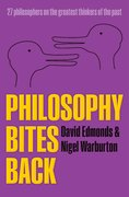 Cover for Philosophy Bites Back