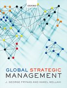 Cover for Global Strategic Management