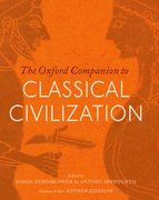Cover for The Oxford Companion to Classical Civilization