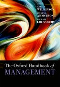 Cover for The Oxford Handbook of Management - 9780198708612