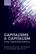 Cover for Capitalisms and Capitalism in the Twenty-First Century