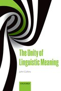 Cover for The Unity of Linguistic Meaning