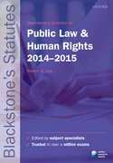 Lee: Public Law and Human Rights 2014-2015