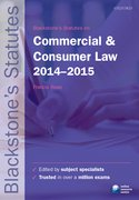 Rose: Commercial & Consumer Law 2014-2015