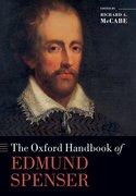 Cover for The Oxford Handbook of Edmund Spenser