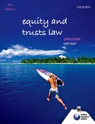 Cover for Equity and Trusts Law Directions