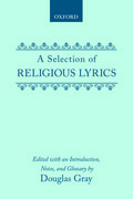 Cover for A Selection of Religious Lyrics