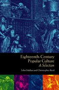 Cover for Eighteenth-Century Popular Culture