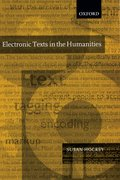 Cover for Electronic Texts in the Humanities