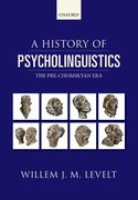 Cover for A History of Psycholinguistics