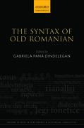 Cover for The Syntax of Old Romanian
