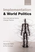 Cover for Implementation and World Politics