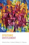 Cover for Epistemic Entitlement
