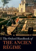 Cover for The Oxford Handbook of the Ancien Regime