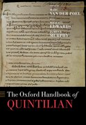 Cover for The Oxford Handbook of Quintilian