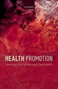 Cover for Health Promotion