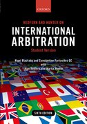 Cover for Redfern and Hunter on International Arbitration