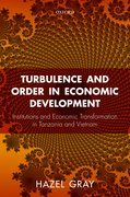 Cover for Turbulence and Order in Economic Development