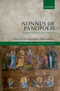 Cover for Nonnus of Panopolis
