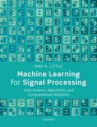 Cover for Machine Learning for Signal Processing