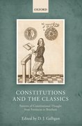 Cover for Constitutions and the Classics