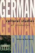 Cover for German Cultural Studies