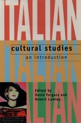 Cover for Italian Cultural Studies