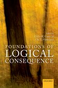 Cover for Foundations of Logical Consequence
