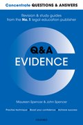 Cover for Concentrate Questions and Answers Evidence