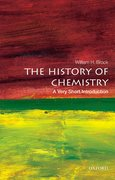 Cover for The History of Chemistry: A Very Short Introduction