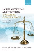 Cover for International Arbitration and Global Governance