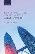 Cover for Constitutional Statecraft in Asian Courts