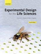 Cover for Experimental Design for the Life Sciences