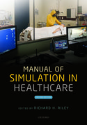 Cover for Manual of Simulation in Healthcare