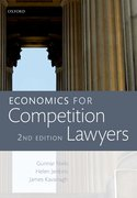 Cover for Economics for Competition Lawyers 2e